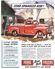 1948. Ford Truck advertisement. (Static Phil) Tags: ford 1948 fordtruck vintageadvertisement