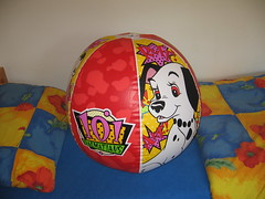 101 Dalmatians beach ball (Arambajk) Tags: pool up toy blow collection inflatable float blowup inflatables drak pooltoy hraka nafukovac