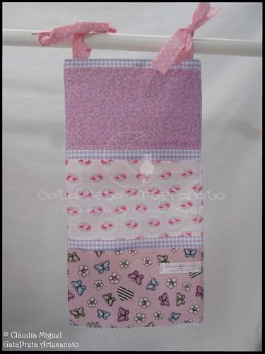 Conjunto tecido bebé A Fada e os pózinhos perlimpimpim lilás25