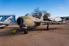 DTJ_7193r (crobart) Tags: arizona museum us force tucson space aircraft military c air airplanes pima f fresco 1953 gurevich mikoyan mig17