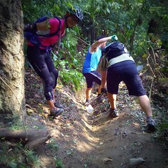 TRAKS-Trail-Day-Feb-2015-016 (Traks Of Malaysia) Tags: mountainbike malaysia mtb traks trailbuilding bukitkiara