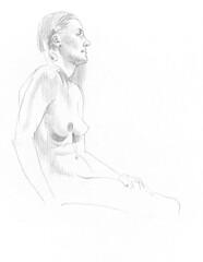 Life drawing at Redline Denver March 2 2015 (paul heaston) Tags: art nude sketch artwork sketchbook denver figuredrawing redline lifedrawing