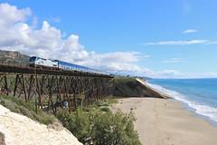 Gaviota, California (UW1983) Tags: california bridges trains amtrak gaviota railroads pacificsurfliner passengertrains