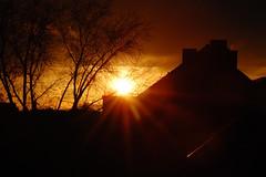 Abendsonne über Dortmund
