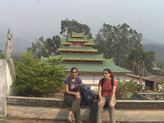 Karen and Anna in Mae Hong Son