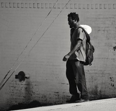 Montauk Man (asw12681photo) Tags: street urban blackandwhite bw white black photography blackwhite nikon raw candid streetphotography gritty selftaught bnw candidphotography nikond3000