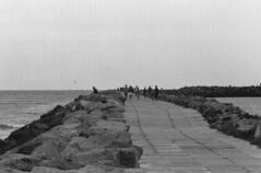Hvide Sande (Turikan) Tags: beach denmark stand mju olympus cm dev 100 agfa apx caffenol