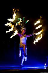 Through the Flames performance at Enlighten 2015 (thezaza42) Tags: art night fire outdoor performance australia canberra act enlighten australiancapitalterritory