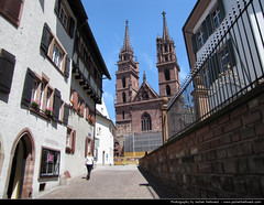 Baseler Mnster, Basel, Switzerland (JH_1982) Tags: building church architecture religious schweiz switzerland suisse suiza cathedral religion catedral landmark basel historic cathdrale sua helvetia sp