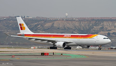 Iberia A330-300 EC-LUK (birrlad) Tags: madrid usa newyork airplane airport spain taxi aircraft aviation airplanes jfk international airline airbus airways mad airlines departure takeoff runway a330 airliner departing iberia barajas taxiway a333 a330300 kjfk a330302 ecluk