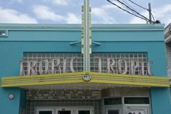 Tropic Cinema Facade, Key West, Florida (Peter Cook UK) Tags: cinema west art facade key florida tropic deco