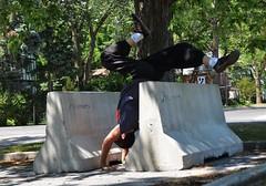 090716_hbuist_0943 (Hilbert 1958) Tags: parkourkingston kingstonsummerparkourworkshop july09 2016 kingston ontario freerunning training exercise sport fitness climbing jumping leaping
