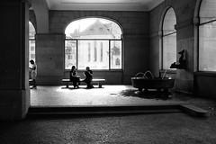summer talk (gato-gato-gato) Tags: 35mm asph ch iso200 ilford leica leicamp leicasummiluxm35mmf14 mp mechanicalperfection messsucher schweiz strasse street streetphotographer streetphotography streettogs suisse summilux svizzera switzerland wetzlar zueri zuerich zurigo zrich analog analogphotography aspherical believeinfilm black classic film filmisnotdead filmphotography flickr gatogatogato gatogatogatoch homedeveloped manual rangefinder streetphoto streetpic tobiasgaulkech white wwwgatogatogatoch zrich leicam6 m6 manualfocus manuellerfokus manualmode schwarz weiss bw blanco negro monochrom monochrome blanc noir strase onthestreets mensch person human pedestrian fussgnger fusgnger passant zurich