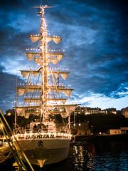 Brest 2016 - le Cuauhtemoc (y.caradec) Tags: light sea cloud mer france night clouds lumix lampe europe ship ships bretagne bateaux breizh brest mexique fte nuage nuages bateau dmc lumires bastilleday breton 14juillet bzh finistre ocan cuauhtemoc ftenationale pennarbed penfeld festivit radedebrest nordfinistre gx7 dmcgx7 lumixgx7 brest2016 14072016 14juillet2016