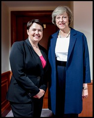 Ruth and Theresa May (Scottish Conservatives) Tags: politics houseofcommons primeminister theresamay ruthdavidson unitedkingdom gbr scotland scottish conservatives
