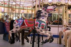Coney Island's Historic B&B Carousell (Kim Lofgren Photography) Tags: nyc carnival 1920s horse newyork brooklyn coneyisland ride landmark carousel historic boardwalk lunapark 1906 merrygoround carouselhorse bbcarousell charlescarmel