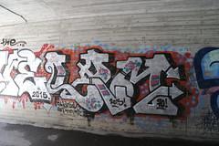 connecting people (Thomas_Chrome) Tags: graffiti streetart street art spray can wall walls vandalism illegal nokia suomi finland europe nordic chrome