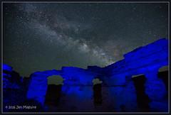 Bodie Hills at Night 1744 (maguire33@verizon.net) Tags: california stars us unitedstates galaxy bodie bridgeport milkyway