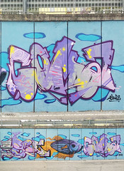tike x ilcoffee x coma (aeroescrew) Tags: wall graffiti production coma aeroes aeroescrew