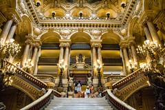 Escalier de l'Opera Garnier (AntLab75) Tags: paris palaisgarnier opragarnier garnier opra
