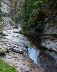 Johnston Canyon (Keithius) Tags: ca travel vacation canada river canyon alberta johnstoncanyon improvementdistrictno9