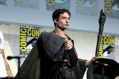 Ezra Miller (Gage Skidmore) Tags: zack snyder ben affleck henry cavill gal gadot ray fisher ezra miller jason momoa justice league film san diego comic con international california convention center