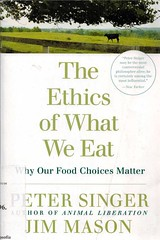 Peter Singer, The Ethics of what we eat (bibliofilosofiamilano) Tags: etica alimentazione vegetarianismo