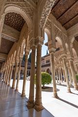 Courtyard of the Lions - II (RaminN) Tags: spain alhambra moorish granada patiodelosleones nasriddynasty