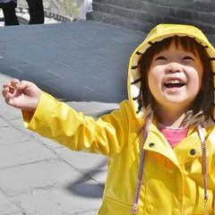 Joy...a happy child at the Great Wall of China (stevelamb007) Tags: child girl china beijing greatwallofchina stevelamb nikon d7200 nikkor18200mm