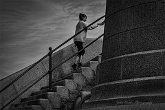 A Helping Hand. ( explored) (John's taken it. PEACE.) Tags: folkestone lighthouse harbour pier