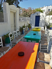 20160714_161749_Richtone(HDR) (Cinzia, aka microtip) Tags: chora mykonos cicladi grecia view street tavoli table tavolo