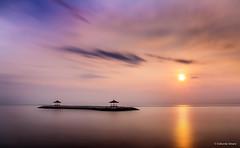 Morning Shine Karang Beach, Sanur (cokdesmara) Tags: karangbeach sanur bali beach sunrise sunshine landscape longexposure outdoor dawn seascape beachscape water ocean sea photography