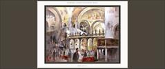 VENECIA-PINTURA-CATEDRAL-DUOMO-SAN MARCOS-ARTE-BIZANTINO-PRESBITERIO-INTERIOR-PINTURAS-PAISAJES-ITALIA-ARTISTA-PINTOR-ERNEST DESCALS- (Ernest Descals) Tags: venecia sanmarcos pintura pinturas pintar pintando cuadros cuadro oleo oleos quadres pintures paintings painting venice venezia veneszia interior interiores presbiterio art arte artwork bizntino bizancio italia italy paisaje paisajes duomo catedral cathedral painter painters paint landscape landscaping pictures pintor influencias bizantinas venecianos venecianas paisatge paisatges plastica plasticos pintores pintors iglesia iglesias ernestdescals artista artistas artist artistes religion religious religiosos arquitectura peronas vida movimiento life