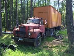 Mack B61, 8-12-2016 (jackdk) Tags: truck tractor tractortrailer semi semitruck mack macktruck mackb61 b61 bmodel
