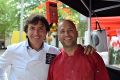 Jean-Christophe Novelli with Churros Ole Ltd