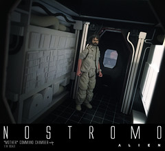 NOSTROMO-MOTHER-CHAMBER-19 (sith_fire30) Tags: alien nostromo scratchbuilding model building sheet styrene diorama prometheus covenant narcissus shuttle ripley rildley scott mother muthur6000 sithfire30 dayton allen custom action figure