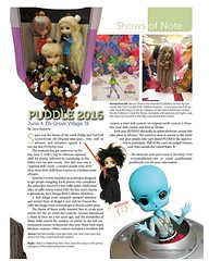 PUDDLE in October 2016 Dolls (TrueFan) Tags: puddle pullipanddaldollloversevent 2016 space dollsmagazine october