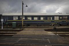 Lines (Jeroenc71) Tags: beekbergen station veluwe vsm steam train crossing wood beams carriage