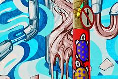 on my way (RegiCardoso) Tags: tagging tag grafitti streetart rua turtles tartarugas surrealista surreal surrealismo surrealism abstract abstrato abstraction signos signs colours colores cores pixo pintura estampa aoarlivre desenho