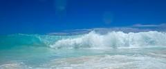 Je suis la vague qui te ramène (Max Sat) Tags: bleu blue ciel green indianocean landscape maxsat maxwellsaturnin mer ocean océanindien praslin sea seascape seashore seychelles sky turquoise vague vert wave unexplored wideangle