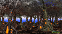 World Is Colorful with Magic Trees (zuza ritt) Tags: trombr magictree halloweentree halloween virtualworld secondlife opensim opensimulator metaversum virtualreality virtualhalloween digitalhalloween digitalworld digitallandscape gameworld gamelandscape 21strom meshtree windanimation halloweentower halloweenforest