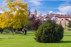 Maana de domingo VI (Oscar F. Hevia) Tags: domingo parque sol otoo sunday park sun autumn santullano sanjuliandelosprados asturias asturies espaa oviedo principadodeasturias spain uvieo uviu santuyano otoo espaa uviu