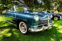 1948 Hudson Commodore 8 (hz536n/George Thomas) Tags: riverside park orphans car show 2016 cs5 canon canon5d ef1740mmf4lusm michigan september summer ypsilanti carshow copyright hudson commodore convertible nik