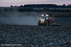 JD 7270R & Horsch Sprinter 6ST (Deschamps productions) Tags: tracteur john deere semoir horsch sprinter seed drill tractor seeding wheat semis bl nuit