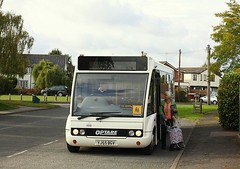 See you next Friday (Chris Baines) Tags: suffolk norse service from ipswich bucklesham optare solo yj55 bgv