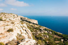 Dingli cliffs (lorenzoviolone) Tags: d5200 dslr fujiastia100f nikon nikond5200 reflex rocks seascape vsco vscofilm cliff cliffs cliffside clouds dingli dinglicliffs horizon horizononthewater island lansacape nature seaside sky skyline streetphoto streetphotocolor streetphotography travel:malta=aug2016 addingli malta fav10
