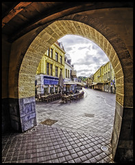 Valkenburg - City Gate (glessew) Tags: gate poort tor stadt stad city valkenburg limburg nederland netherlands paysbas