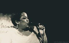 Mandy Gaines (Natali Antonovich) Tags: mandygaines jazz themusicvillage brussels portrait singer sweetbrussels belgium belgique belgie monochrome emotion