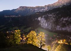 The Watchtrees (TheDailyNathan) Tags: alps berneroberland berneseoberland lauterbrunnen longexposure night staubbachfalls staubbachfall switzerland waterfall