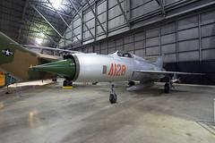 MiG-21PF at NMUSAF (atg3v) Tags: mig mig21 mig21pf mikoyan mikoyangurevich fishbed fishbedd hungary nva vietnam dayton ohio dwf wrightpatterson usa preserved aviation 4128 nationalmuseumoftheusaf nmusaf